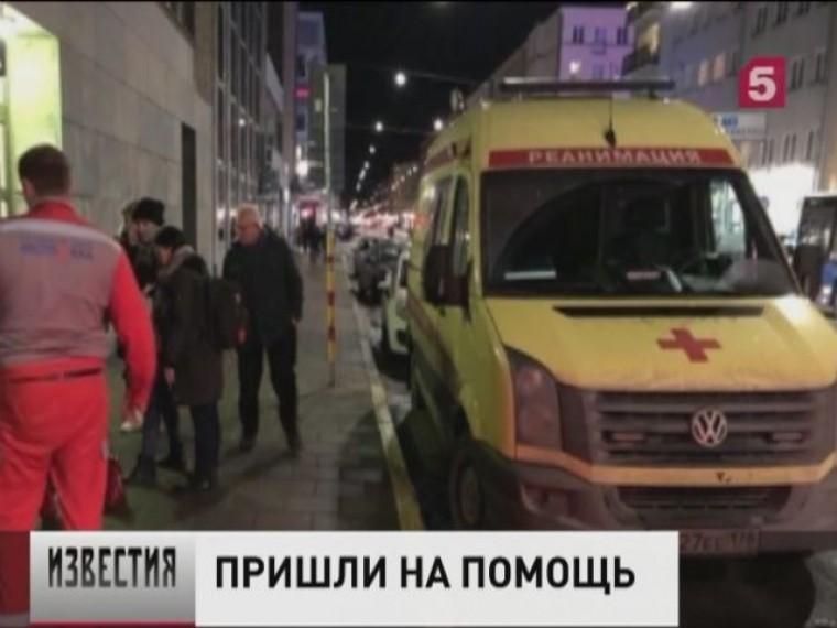 ВШвеции выясняют, как вСтокгольме появилась машина скорой помощи спетербургскими номерами