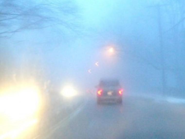 НаМоскву идет сильный туман