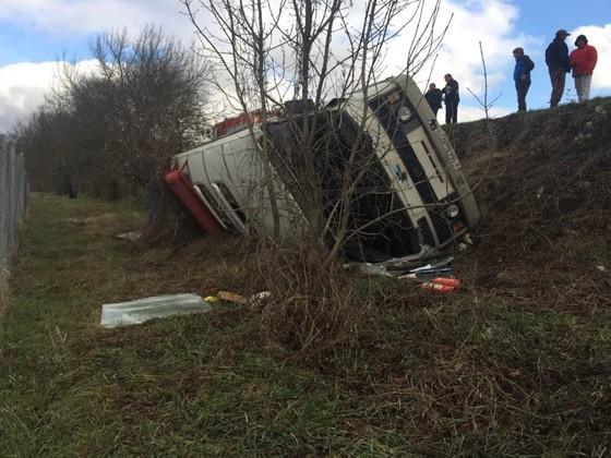 Автобус упавший в крыму