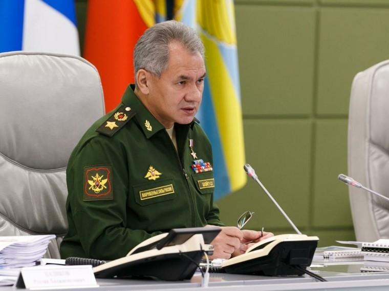 министр обороны россии заявил начале вывода российских военных