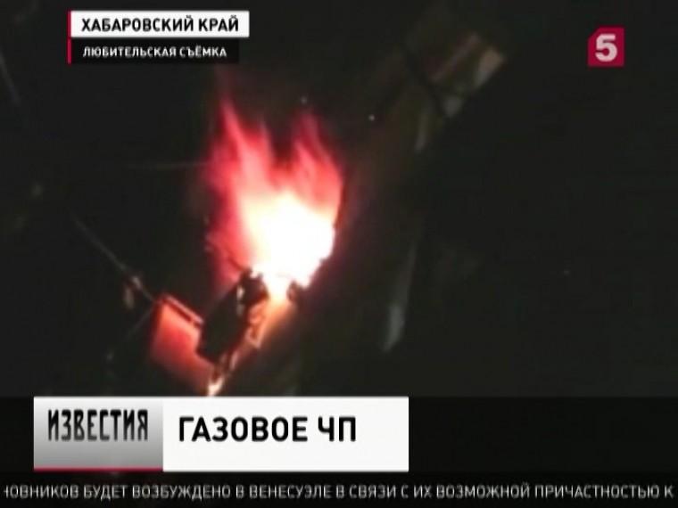 Причиной взрыва газа впосёлке Приамурский стало неосторожное обращение соборудованием
