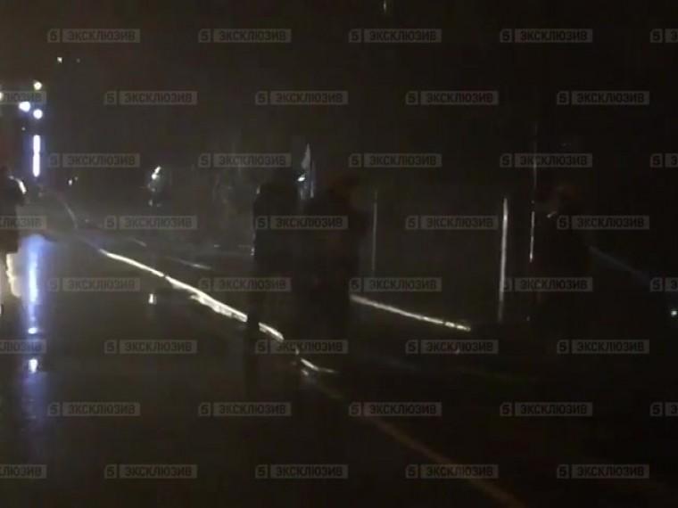 Пятый канал публикует видео спожара вчастном доме навостоке Москвы