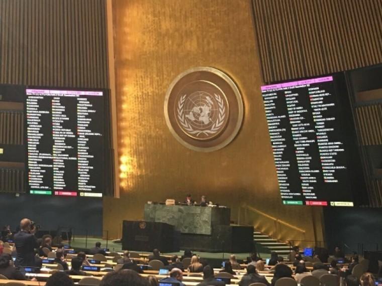 Генассамблея ООН одобрила украинскую резолюцию поКрыму