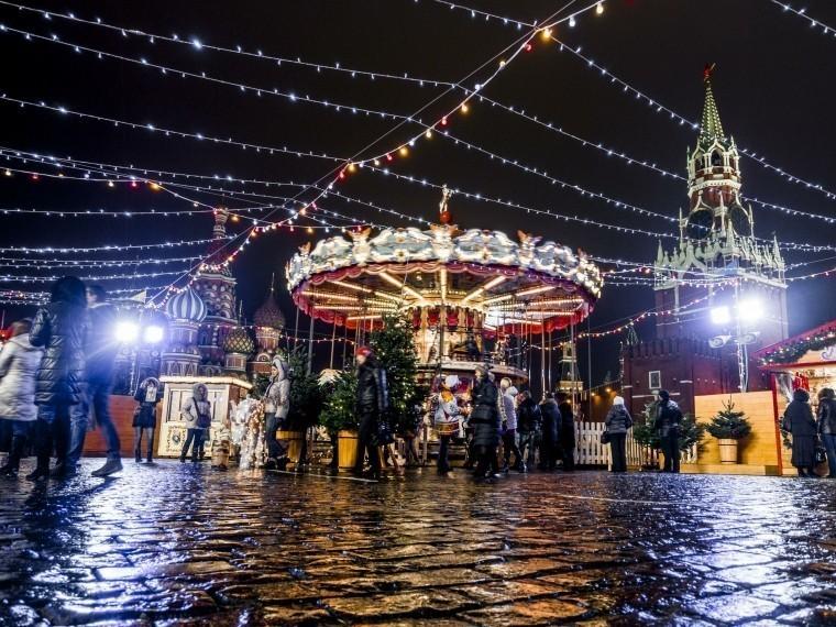 Вновогоднюю ночь Москваможет остаться без снега