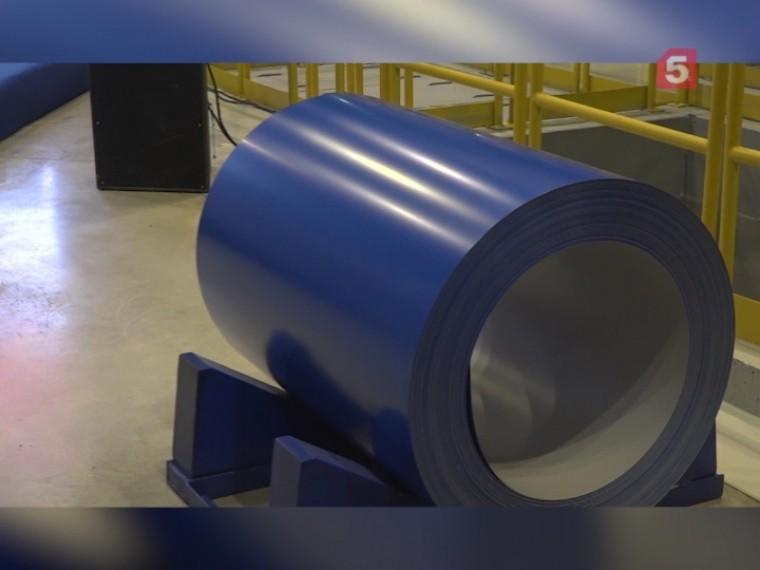 Череповецкая «Северсталь» запустила производство уникального проката сполимерным покрытием
