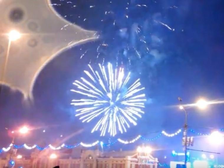Пятый канал поздравляет жителей Томской, Новосибирской, Кемеровской, Омской областей, Республики Алтай иАлтайского края сновым2018годом