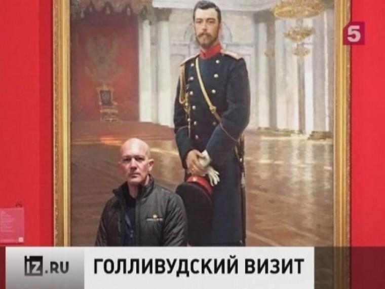 Звезда Голливуда Антонио Бандерас посетил филиал Русского музея виспанской Малаге