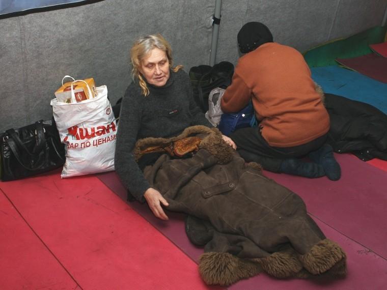 Накануне крещенских морозов вПетербурге оборудованы дополнительные места обогрева для бездомных