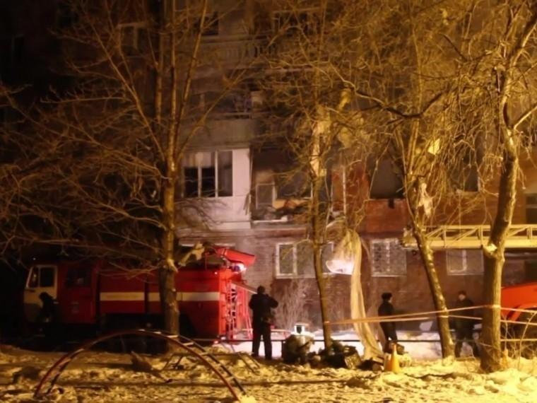 ВСКрассказали подробности взрывавжилом доме вОмске