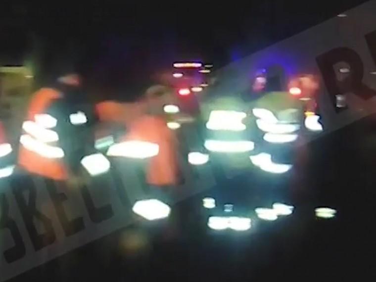 опубликовано видео массового дтп челябинской области