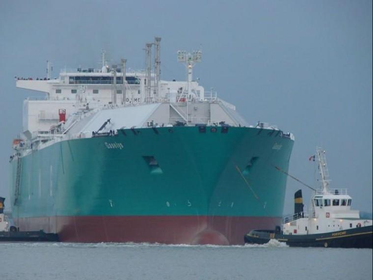 Первый танкер сроссийским газом, шедший вСША, развернули вводахАтлантики