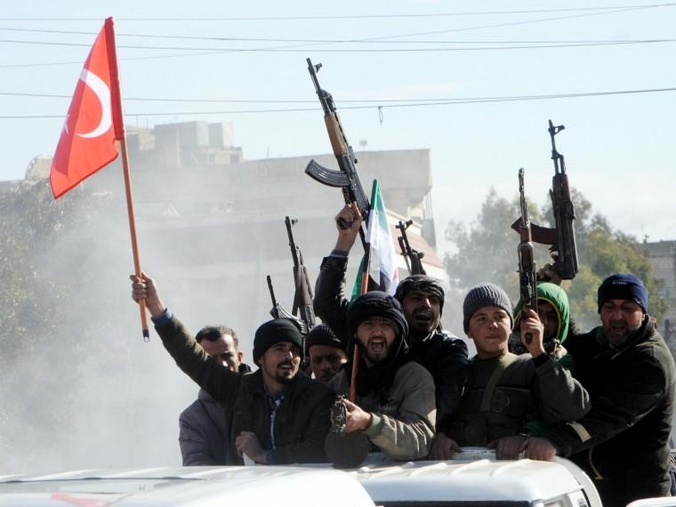 эрдоган объявил начале наземной операции сирийском африне