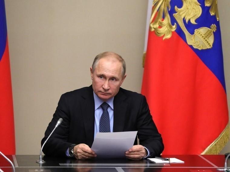 Владимир Путин поздравил «Газпром-Медиа» с20-летним юбилеем