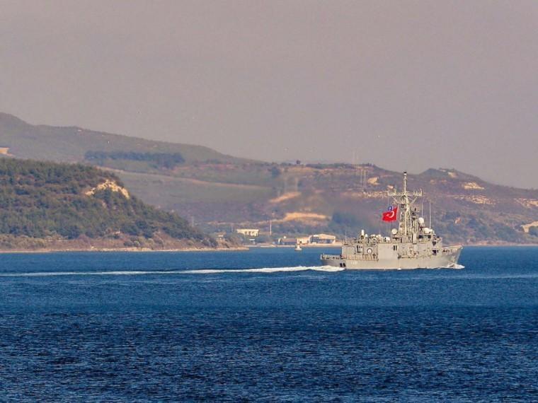 ВЧерное море вошел эсминец Королевского флота Великобритании