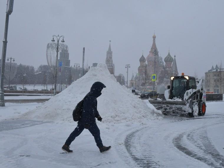 начале февраля европейскую часть россии накроет волна метелей