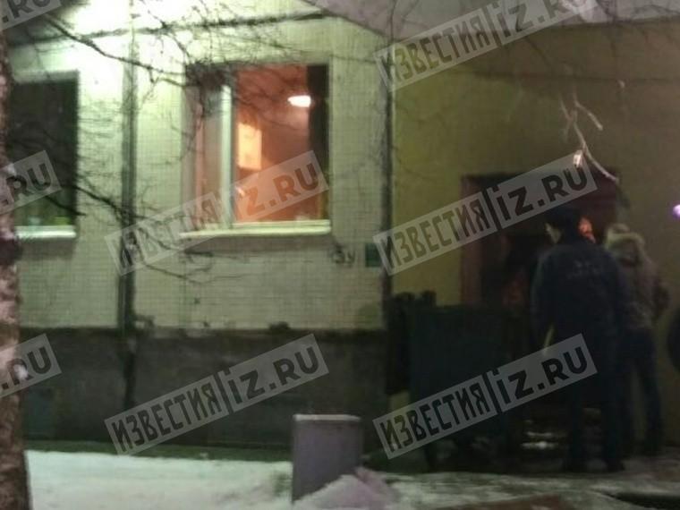 Первое видео сместа взрыва вжилом доме наюге Петербурга