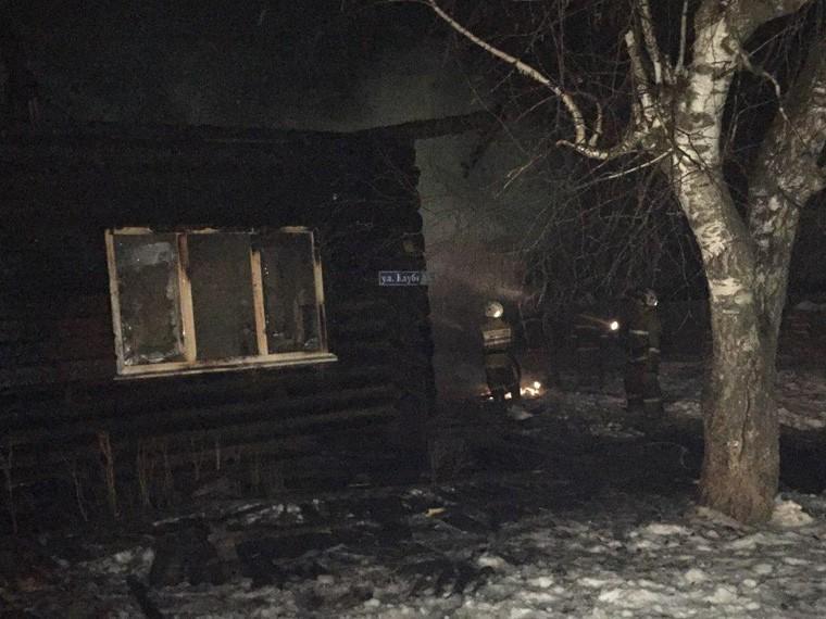 ВПермском крае напожаре вжилом доме погибли двое детей