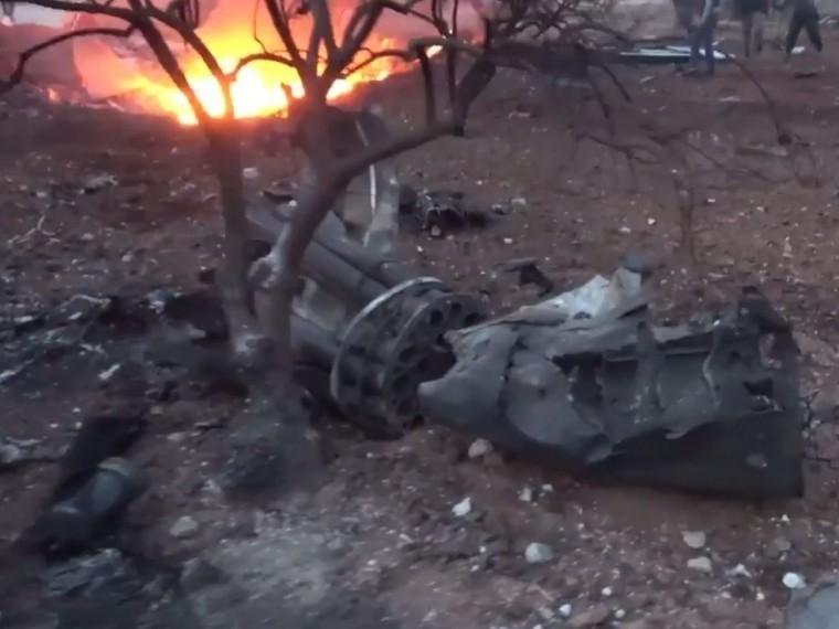 Названа предварительная причина крушения Су-25 вСирии