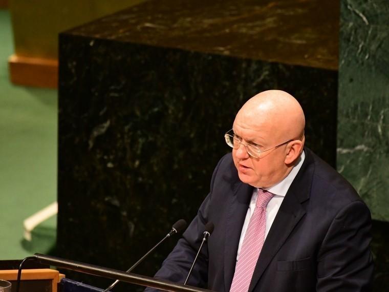 Попытки обвинить Россию впричастности кхимическим атакам вСирии позорны— Небензя