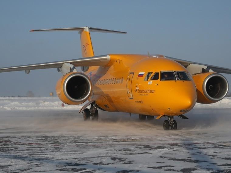 Вруководстве «Саратовских авиалиний» объяснили приостановкуполетов Ан-148