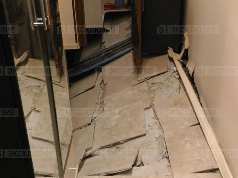 Появились подробности обрушения пола вжилом доме вЗвенигороде