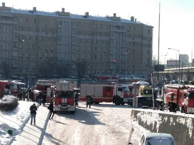 Стала известна причина пожара вмосковской гостинице «Космос»
