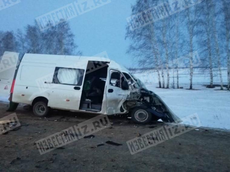 Фото: вДТП под Тамбовом пострадали восемь человек