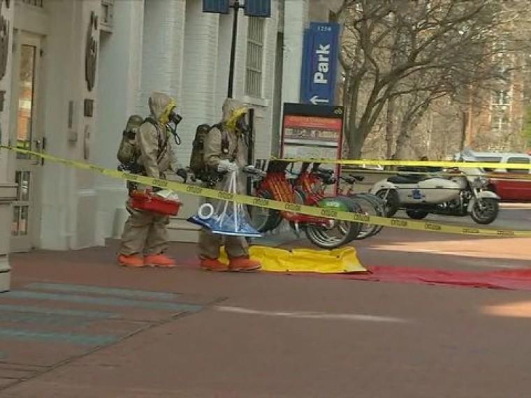 СМИ: Вофис Обамы вВашингтоне нагрянули спецслужбы вхимзащите