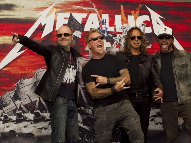 Metallica стала лауреатом «Нобелевской премии помузыке»