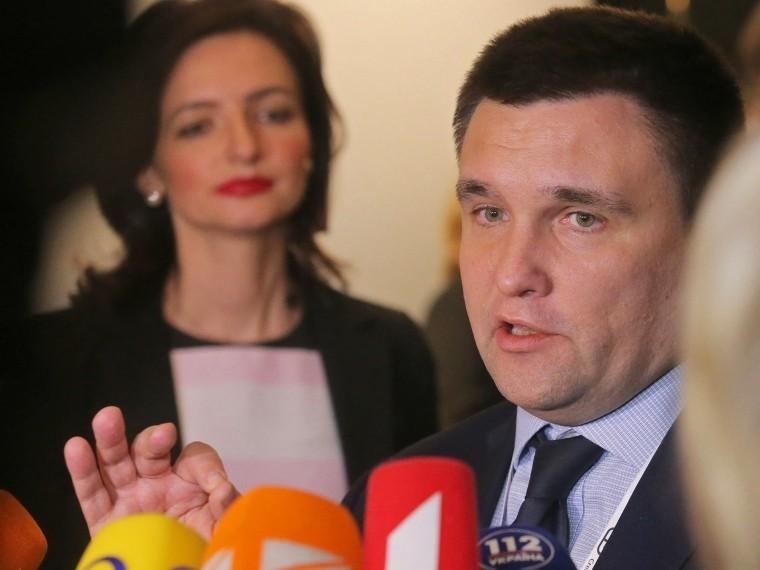 Климкин заявил, что Саакашвили находится вГермании