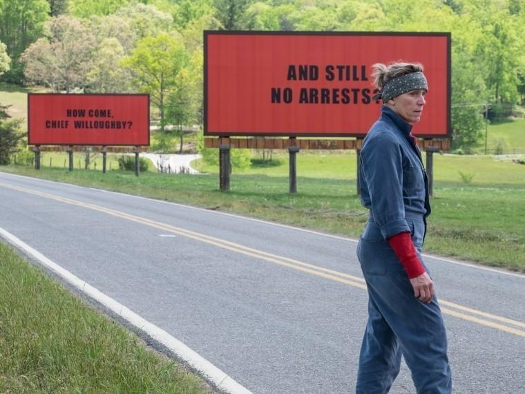 «Три билборда»— социальный крик, удостоенный победы впяти номинациях премии BAFTA