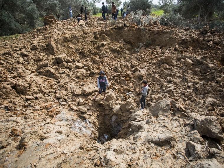 Палестинские боевики второй раз засутки обстреляли Израиль изсектора Газа