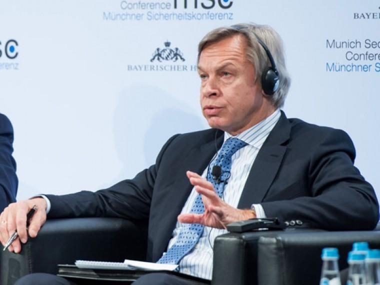 «Главное— насолить»— Алексей Пушков озапрете Украины поставок самолетных двигателей вРоссию