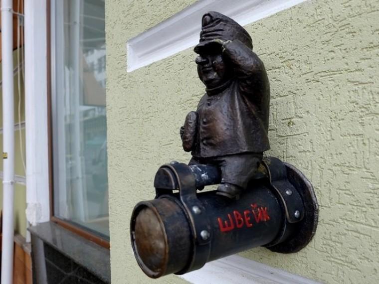 ВОдессе снова похитили скульптуру бравого солдата Швейка