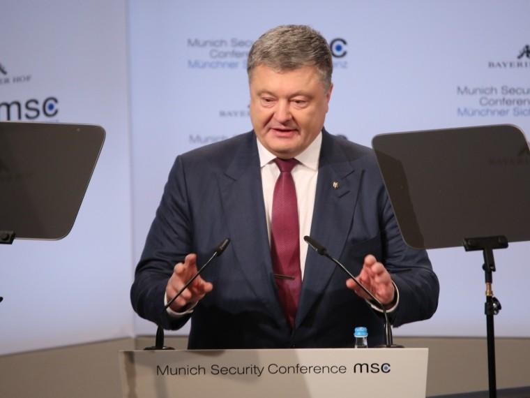 СМИ ФРГ назвалиречь Порошенко вМюнхене «печальным эффектом»