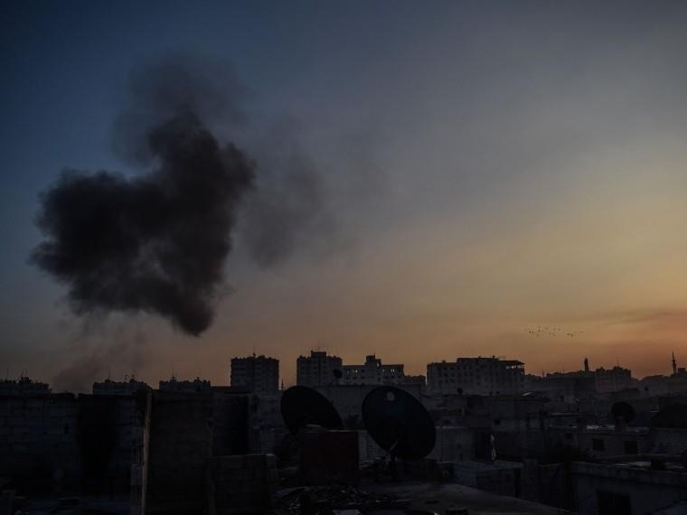 Массированному обстрелу подвергся вДамаске российский центр примирения