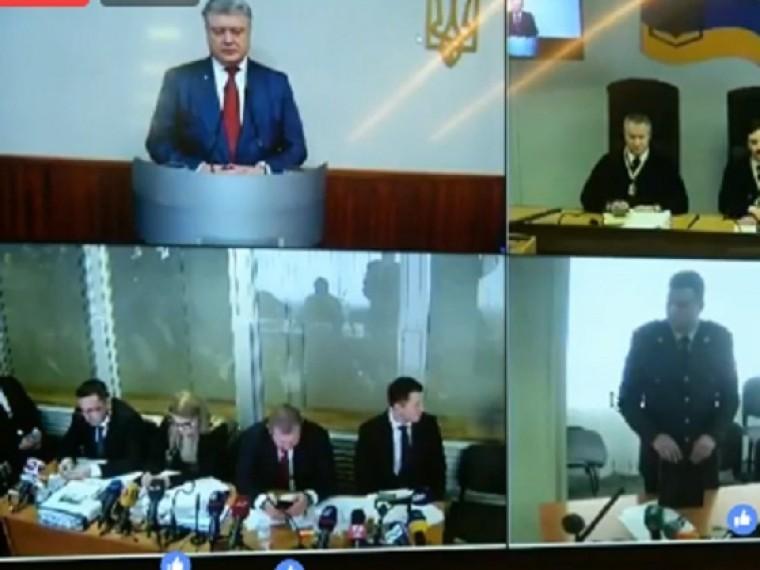 Петро Порошенко дает показания поделу огосизмене Януковича— прямой эфир