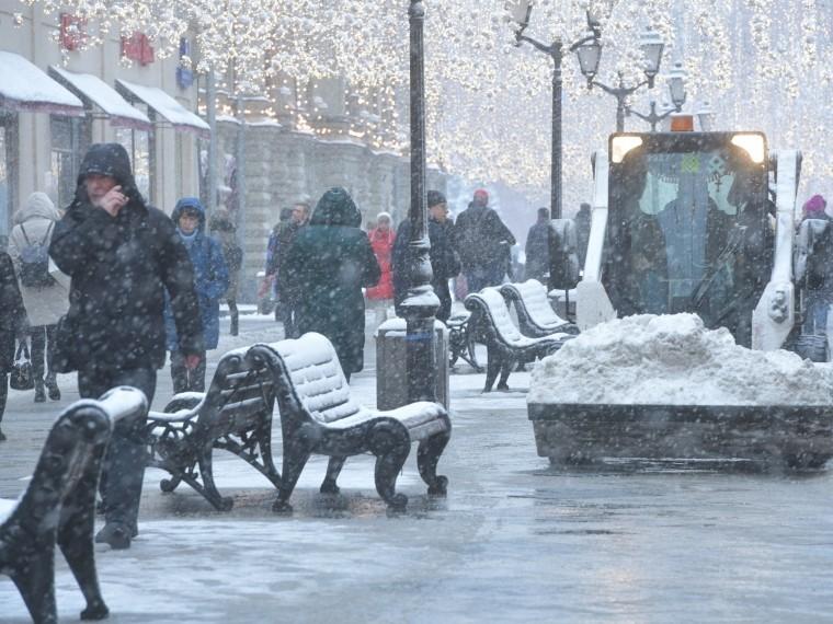 Москву накрыли морозы доминус25