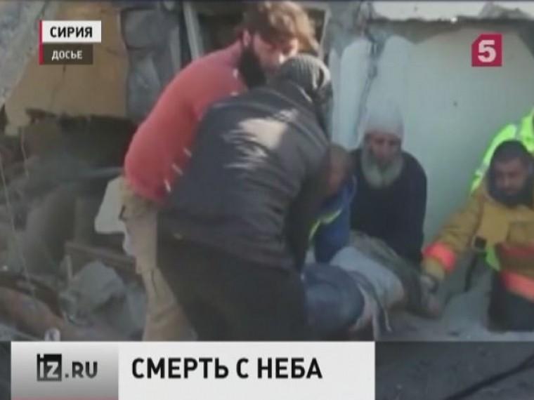 Трагедией закончился очередной удар силы коалиции воглаве сСША насевере Сирии