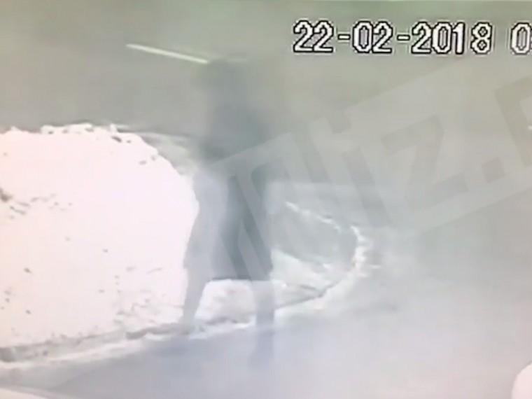 Камера наблюдения поймала киллера, расстрелявшего бизнесмена наЧертановской вМоскве
