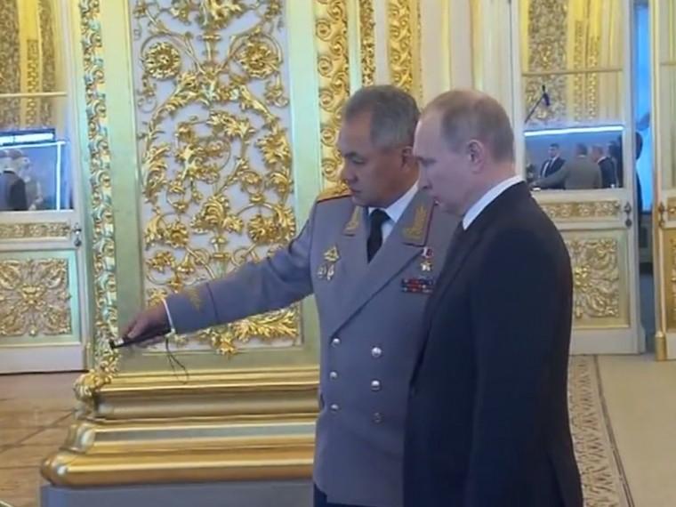 Путин ознакомился сбудущим инновационным технополисом «Эра»