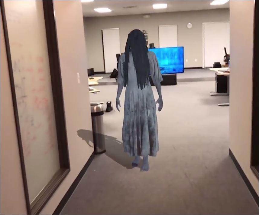 Программист «вытащил» изтелевизора проклятую девочку изфильма «Звонок»
