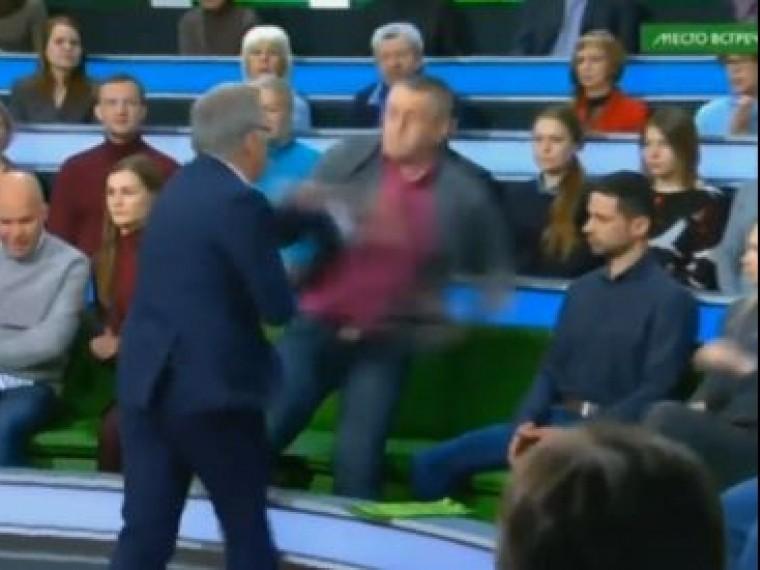 Никита Джигурда прокомментировал драку ведущего НТВ сукраинским политологом