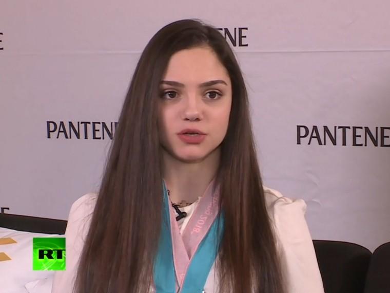 Фигуристка Медведева рассказала освоём выступлении наисполкоме МОК