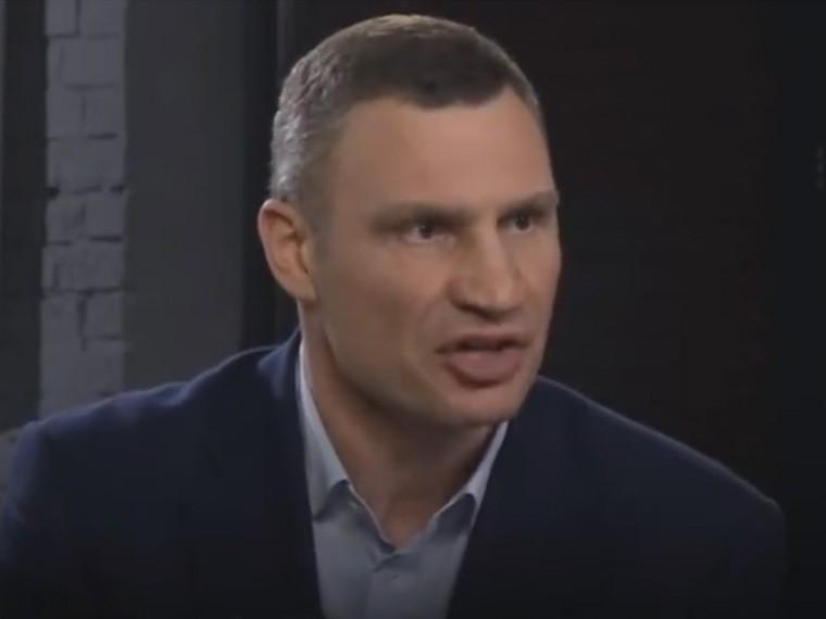 «Памятники, которые будут угрожать»— мэрКиева Кличко снова стал мемом