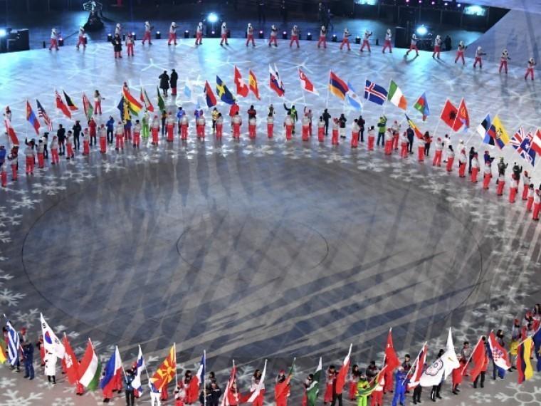 ВКремле прокомментировали запрет российского флага назакрытии Олимпиады