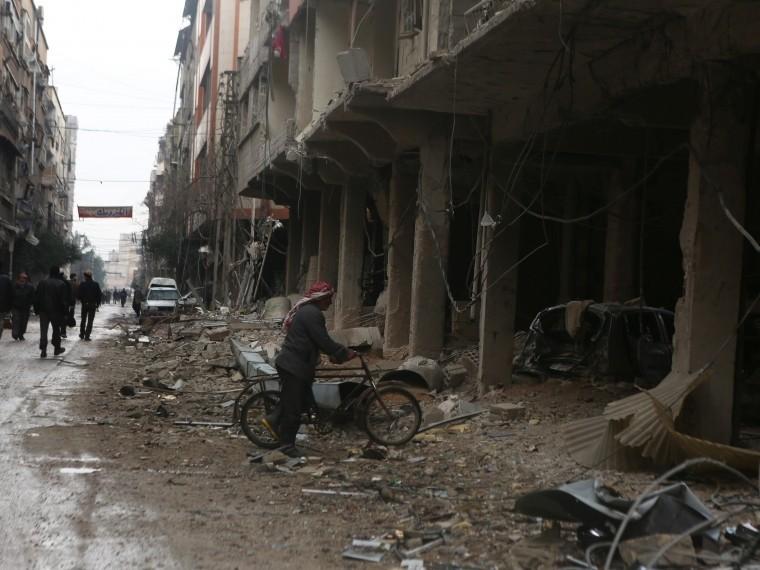 Эксперты называют положение мирных жителей всирийской Ракке «гуманитарной катастрофой»