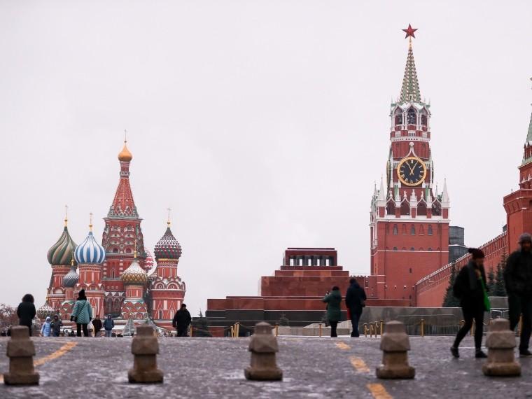 Американец сошёл сума, увидев Московский Кремль