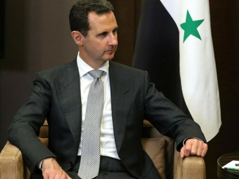Башар Асад обвинил коалицию воглаве сСША вподдержке террористов