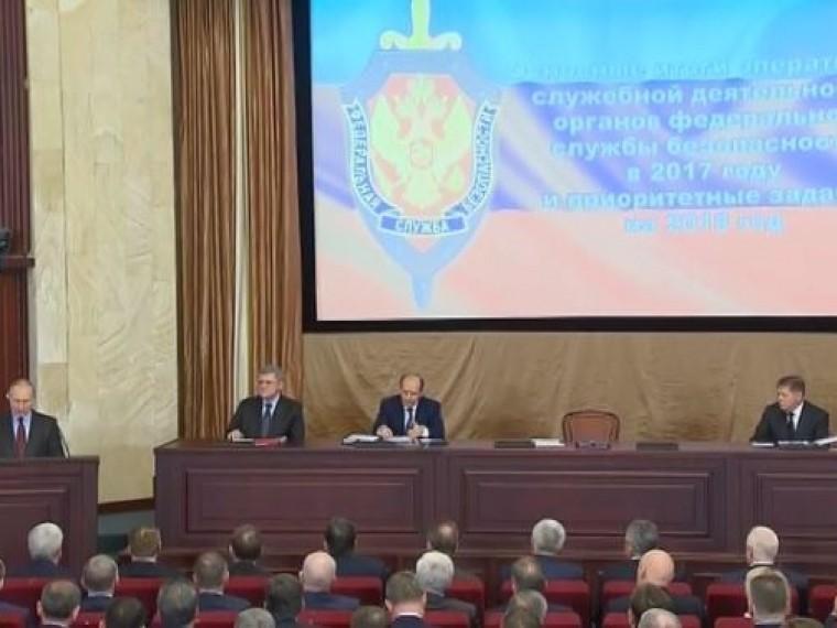 Путин: в2017году вРоссии предотвращено25 терактов